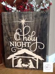 pallet painting ideas christmas. handpainted o holy night rustic pallet by pixiedustlouisville painting ideas christmas s