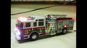 Code 3 Fire Lights Custom Code 3 Collectibles Pierce Pumper Fire Truck W