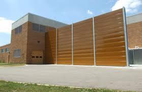 sound barrier walls. Brown Sound Barrier Wall Walls