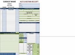 garage invoice template free auto repair invoice template excel auto repair invoice for a