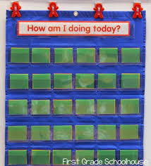 Red Yellow Green Behavior Chart First Grade Schoolhouse Behavior Charts And Parent