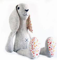 Animal Sewing Patterns Gorgeous Bunny Rabbit Sewing Pattern Stuffed Toy Sewing Pattern