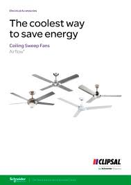 airflow ceiling sweep fans the coolest way to save energy 138650