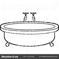 royalty free rf bath tub clipart ilration by lal perera stock sample 1244333 16 bathtub