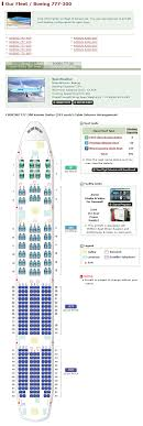 korean air airlines boeing 777 300 aircraft seating chart