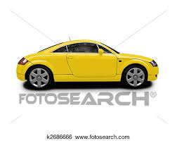 car side view white background. Simple White Isolated Sport Car On White Background Throughout Car Side View White Background H