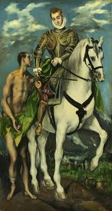 el greco saint martin and the beggar 1597 99 national gallery