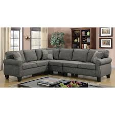 l shape furniture. L Shape Furniture. Furniture Of America Herena Linen-like L-shaped Sectional - N