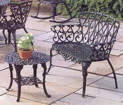 58 cast aluminum patio garden furniture