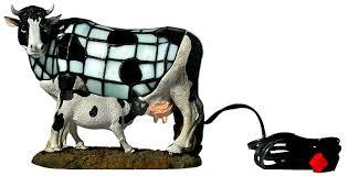 cow tiffany lamp