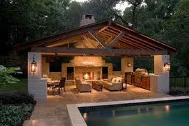 Image Inground Swimming Awesome Pool House Contemporary Patio By Httpwwwbest100homedecorpics Pinterest Pool House Contemporary Patio Outdoor Pool Houses Outdoor