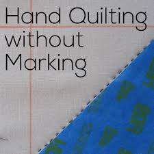 Hand Quilting without Marking - video tutorial | Shiny Happy World & Hand Quilting without Marking - a video tutorial from Shiny Happy World Adamdwight.com