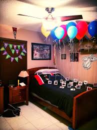 birthday decoration ideas at home for boyfriend