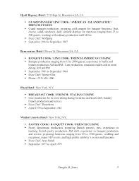 Line Cook Resume Samples Cook Resume Example Cook Supervisor Resume