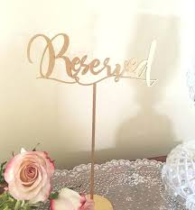 Reserved Signs Templates Reserved Signs For Wedding Tables Cards Templates New Org Printable