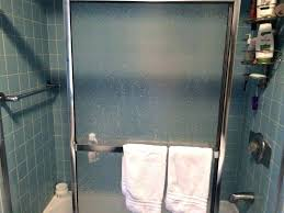 hard water spots on shower glass hard amazing how to clean shower doors with hard water