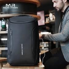 Mark Ryden 2019 New Anti thief Fashion <b>Men Backpack</b> ...