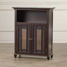 12 Inch Wide Bathroom Floor Cabinet Rustic Cabinets Chests Youll Love Wayfair