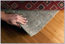 thick rug pads for hardwood floors memory foam pad large size of
