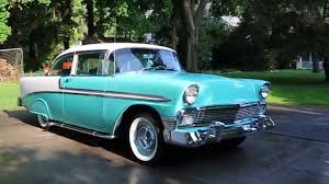 1956 Chevy For Sale~ZZ4 350~Custom Sound~Lake Pipes & Skirts~Great ...