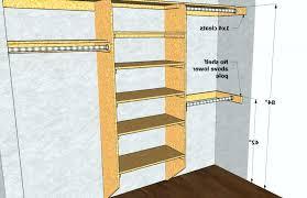 standard closet rod height closet pole height standard standard closet rod shelf height