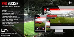 joomla football template. Pro Soccer Football Soccer Club Muse Template by Rometheme