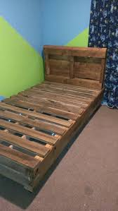 twin pallet bed for kayla