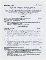 College Resume Tips Sample Resume Format For Undergraduate Students Best Resume Tips For