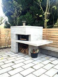 post building a brick oven diy pizza cost build plans and grill smoker backyard brick oven