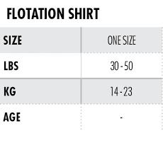 Size Chart Start To Swim Tyr