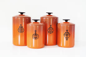 Designer Kitchen Canister Sets Kitchen Canisters Orange 2016 Kitchen Ideas Designs