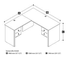 standard desk size 2 desks standard desk dimensions australia