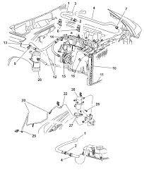 2000 dodge durango plumbing front hevac diagram 00i37075