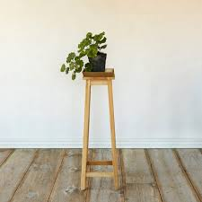 high square diy plant stand