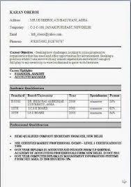 Resume Format For Freshers Bcom Website Templates