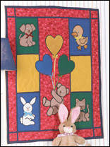 Free Applique Baby Quilt Patterns - Page 1 & Teddy & Friends Wall Quilt Pattern Adamdwight.com