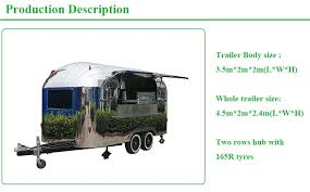 <b>Stainless</b> Steel <b>Food</b> Trailer/<b>food</b> Kiosk Cart/<b>catering</b> Trailer <b>Mobile</b> ...