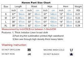 Linen Weight Chart Mens Linen Drop Crotch Harem Pants