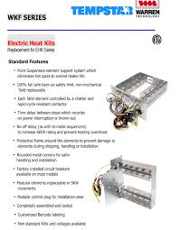 10 kw heat strip for tempstar air handlers eb p x v wa fe fs icp series wkf