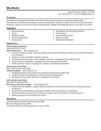 Resume Template Executive Assistant Executive Assistant Resume Samples Administrative Assistant