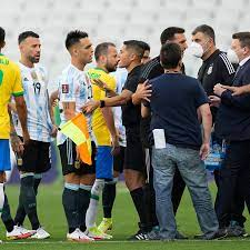 Brazil-Argentina Match Stopped When Health Officials Storm Field - The New  York Times
