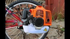 Установка двигателя на велосипед | Сборка мотовелосипеда ...