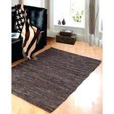 leather woven rug black leather woven rug woven leather rugs india