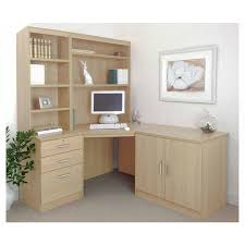 office corner desks. R White Home Office Corner Desk Set With Overshelving - Desks Furniture \u0026 Storage F