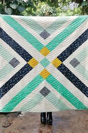 Best 25+ Modern quilting ideas on Pinterest | Modern quilt ... & Pretty Retro Plaid quilt (free pattern after the jump) by Suzy Quilts for  Birch Fabrics. Adamdwight.com