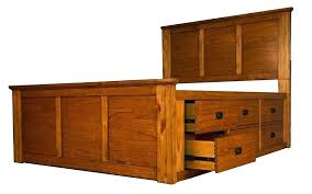 king size captains bed captain bed queen solid wood mission hills 9 drawer storage captains bed king size captains bed