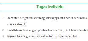 Berilah tanda silang (x) pada huruf a, b, c, dan d yang. Kunci Jawaban Bahasa Indonesia Kelas 8 Tugas Individu Halaman 6 Bab 1 Ilmu Edukasi