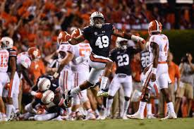 Auburn 2016 Depth Chart Versatile Linebacker Darrell Williams Atop Auburns Depth