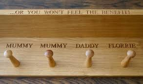 Personalised Coat Rack personalisedwoodencoatracksmakemesomethingspecialcouk 13