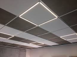 Acoustic Ceiling Lights Lumino Sonic Acoustic Ceiling Systems From Owa Architonic